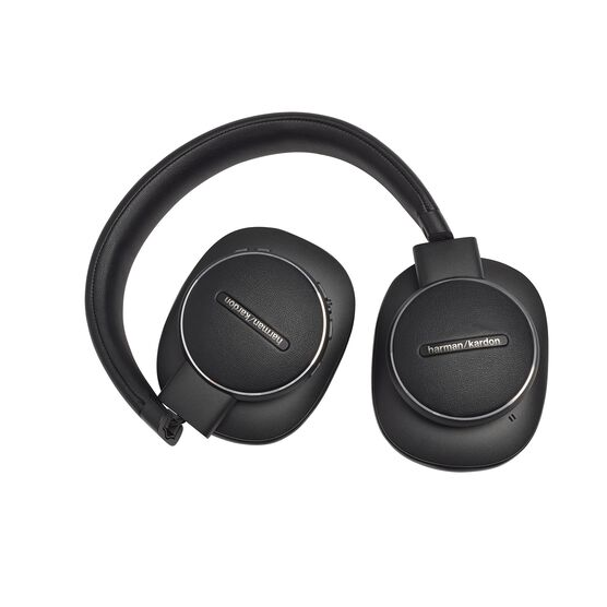 Harman Kardon FLY ANC - Black - Wireless Over-Ear NC Headphones - Detailshot 5