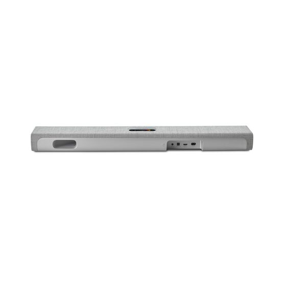 Harman Kardon Citation MultiBeam™ 700 - Grey - The smartest, compact soundbar with MultiBeam™ surround sound - Back