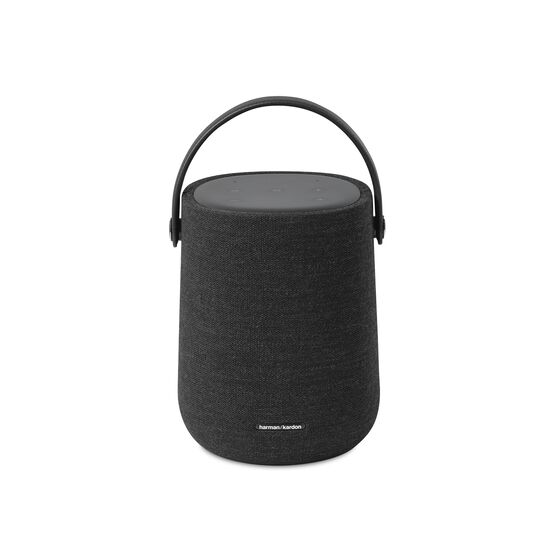 Harman Kardon Citation 200 - Black - Portable smart speaker for HD sound - Front