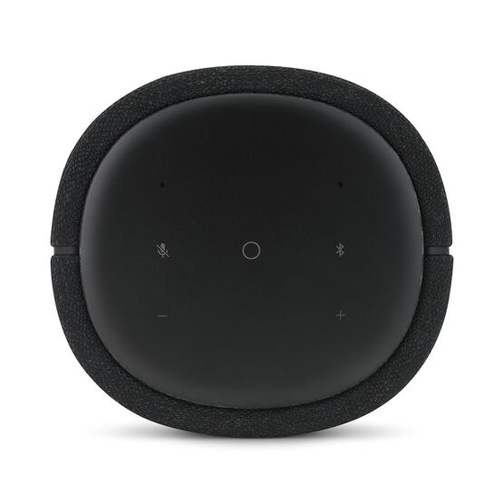 Harman Kardon Citation 100 - Black - The smallest, smartest home speaker with impactful sound - Detailshot 2