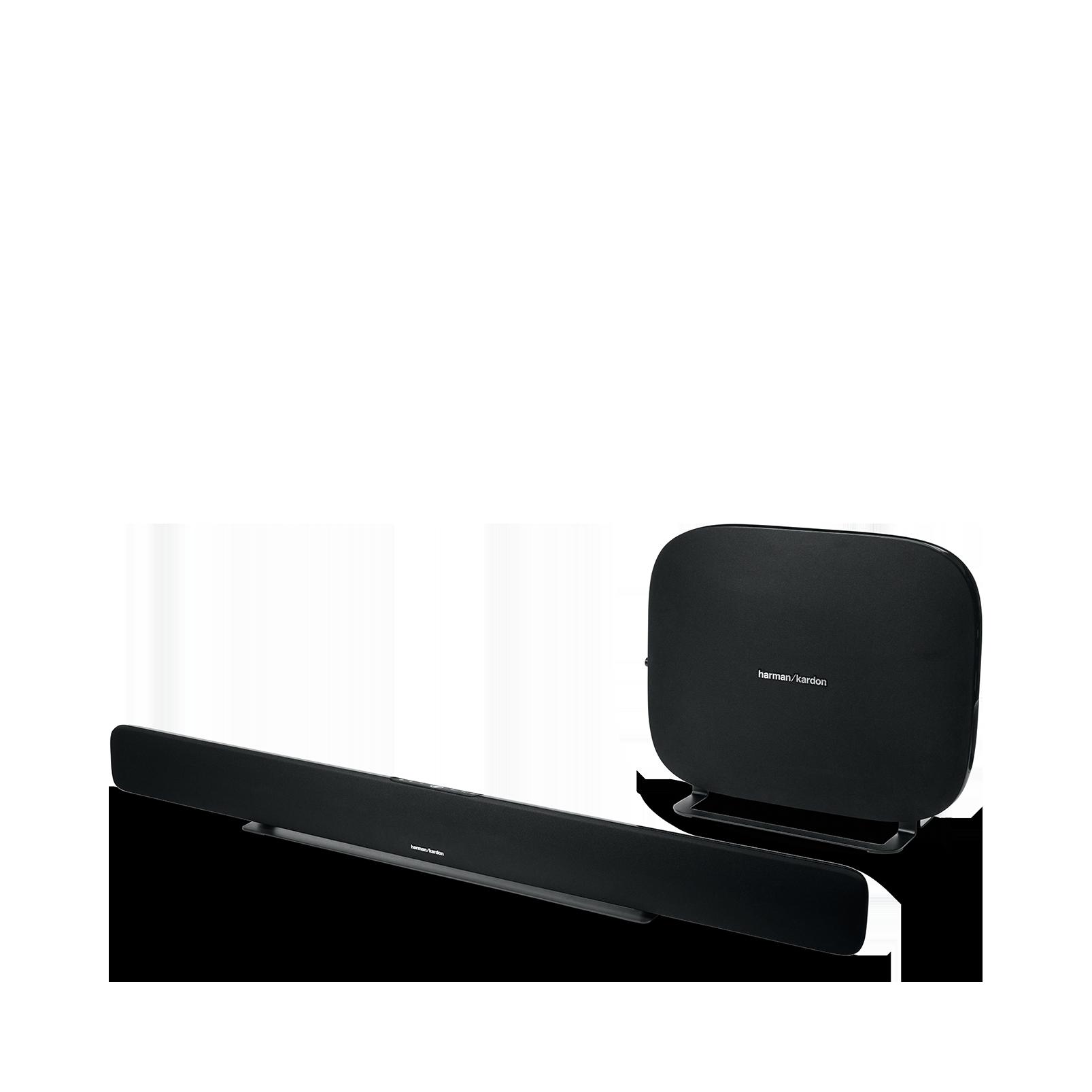 Omni Bar Plus - Black - Wireless HD Soundbar - Left