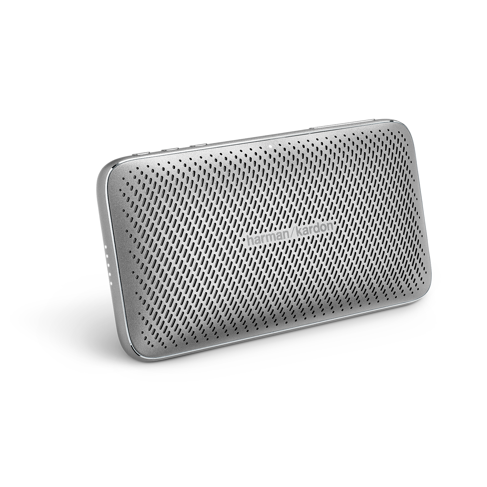 Harman Kardon Esquire Mini 2 - Silver - Ultra-slim and portable premium Bluetooth Speaker - Hero