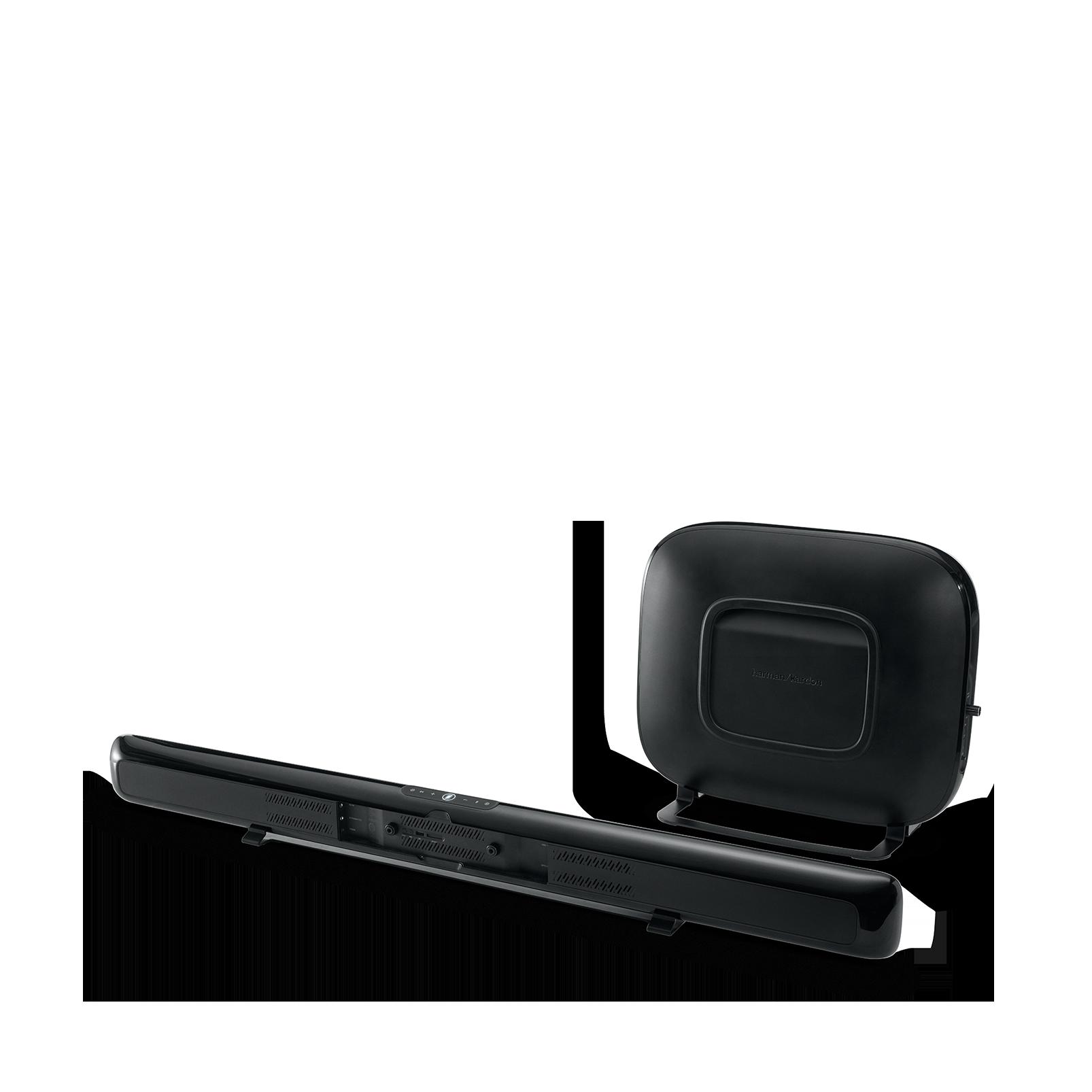 Omni Bar Plus - Black - Wireless HD Soundbar - Back