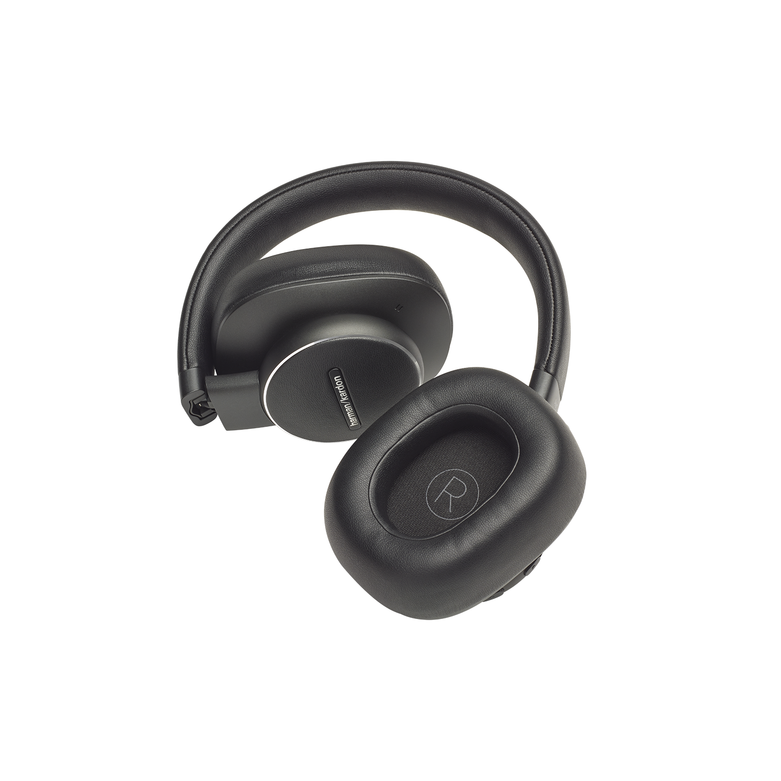 Harman Kardon FLY ANC - Black - Wireless Over-Ear NC Headphones - Detailshot 3