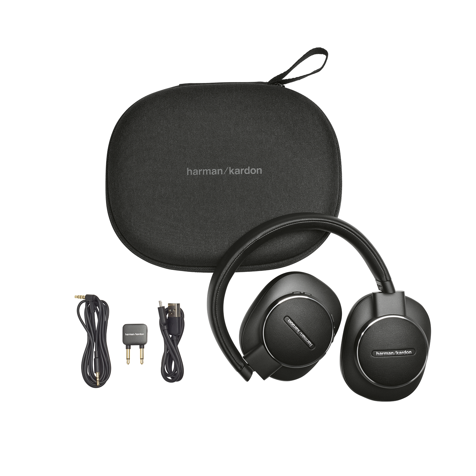 Harman Kardon FLY ANC - Black - Wireless Over-Ear NC Headphones - Detailshot 8