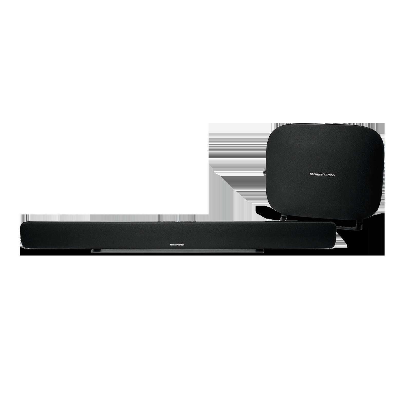Omni Bar Plus - Black - Wireless HD Soundbar - Hero