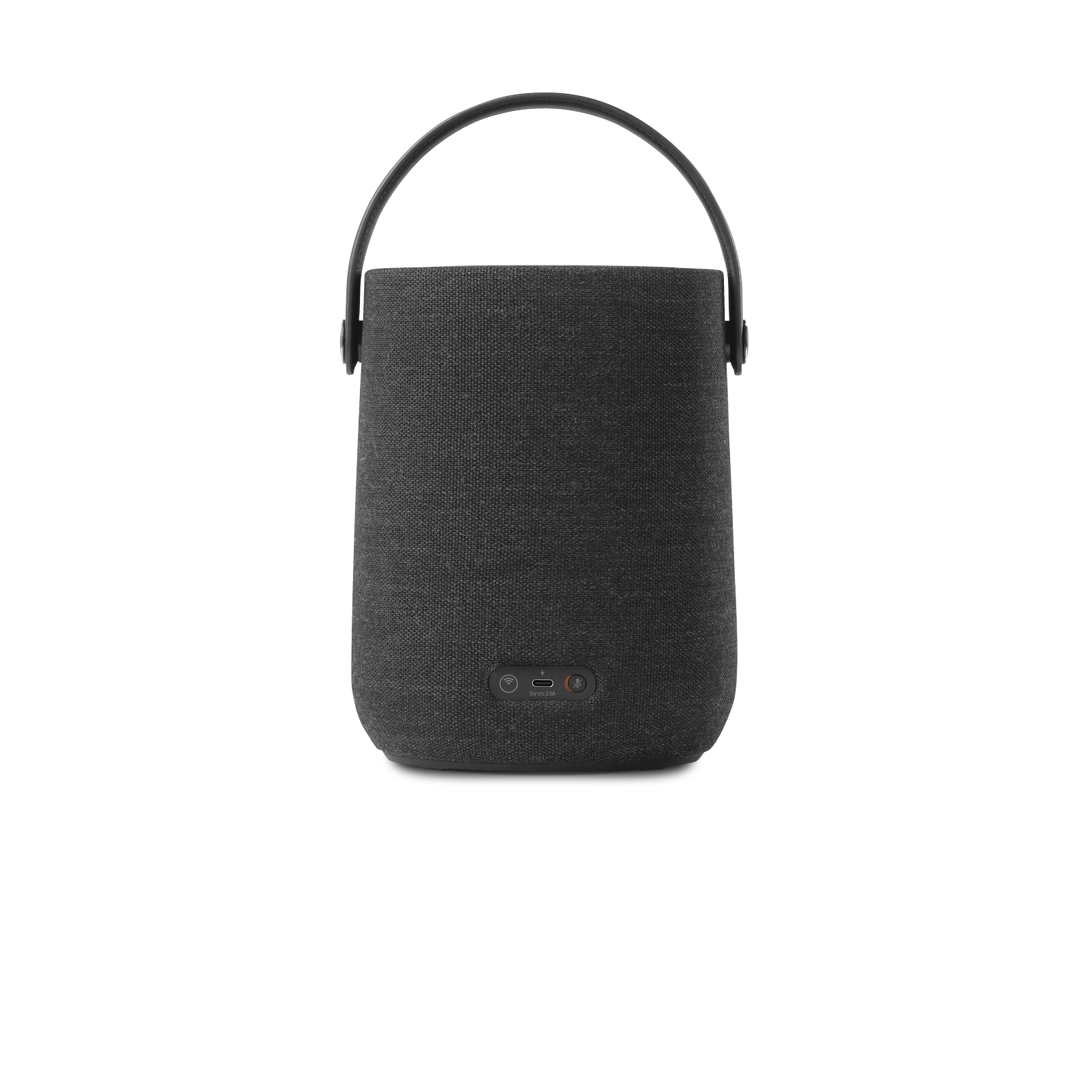 Harman Kardon Citation 200 - Black - Portable smart speaker for HD sound - Back
